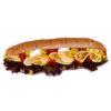 Vegetariánska bageta
